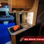 Keuken in de Knaus Boxlife 600 MQ