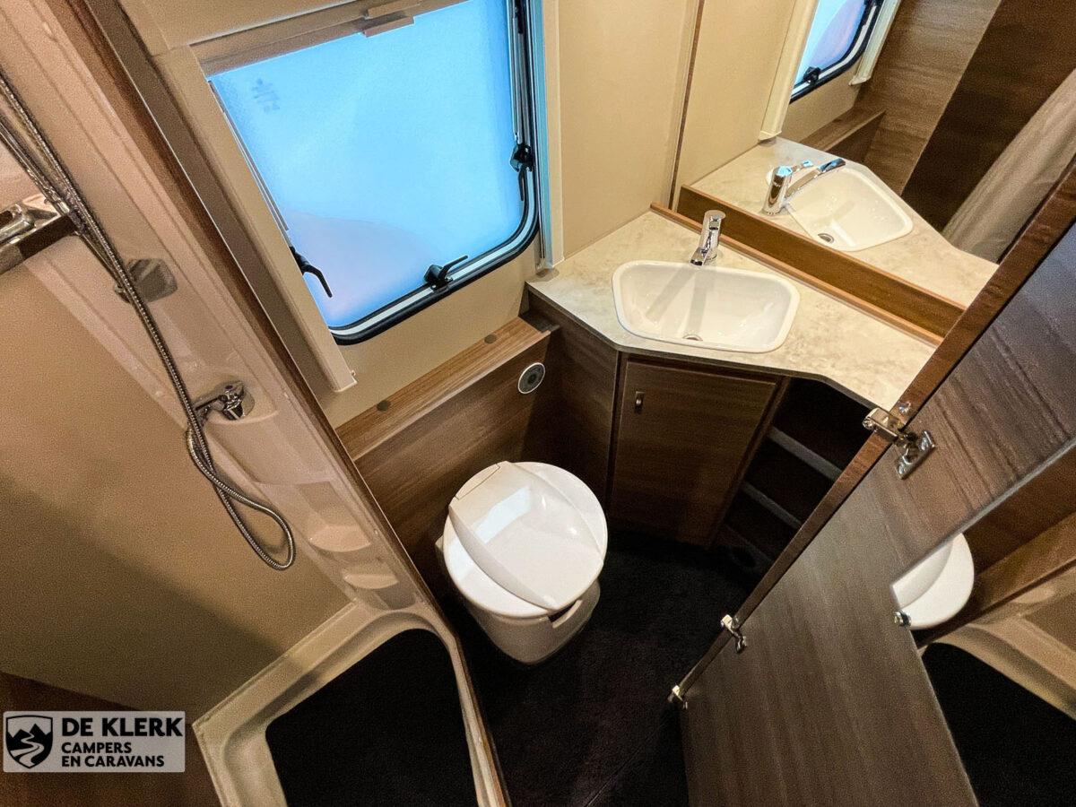 Knaus Sport 500 KD toilet