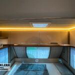 Knaus Sport 500 QDK verlichting boven bed