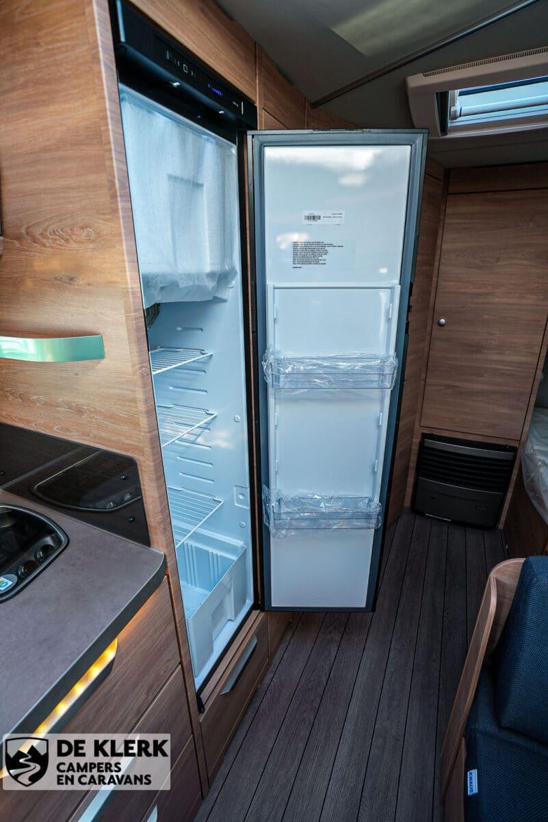 Knaus sudwind 580 qs koelkast