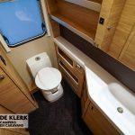 Knaus sudwind 650 PXB toilet