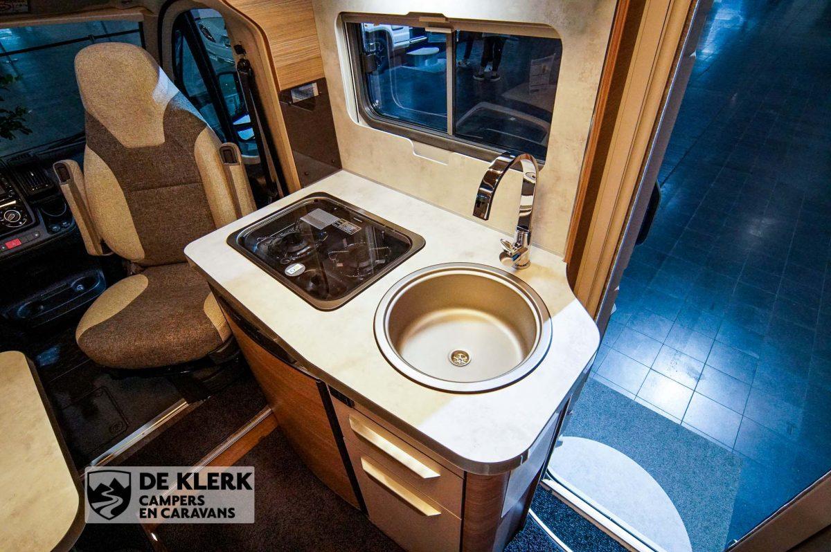 Knaus Van Ti 550mf Vansation keuken