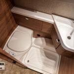 Tabbert Da Vinci 460 E toilet