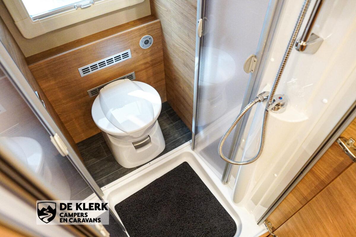 Tabbert Da Vinci 700 KD toilet
