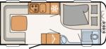 Dethleffs Camper 470 FR Indeling