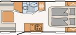 Dethleffs Nomad 530 DR Indeling