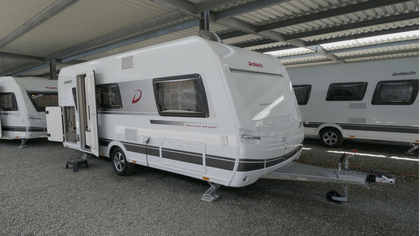 dethleffs generation caravan 2019