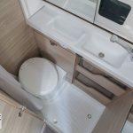 Knaus Boxstar 600 Street Toilet en douchecabine