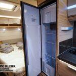 Knaus sudwind 500 uf koelkast