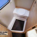 Knaus sudwind 500 uf toilet