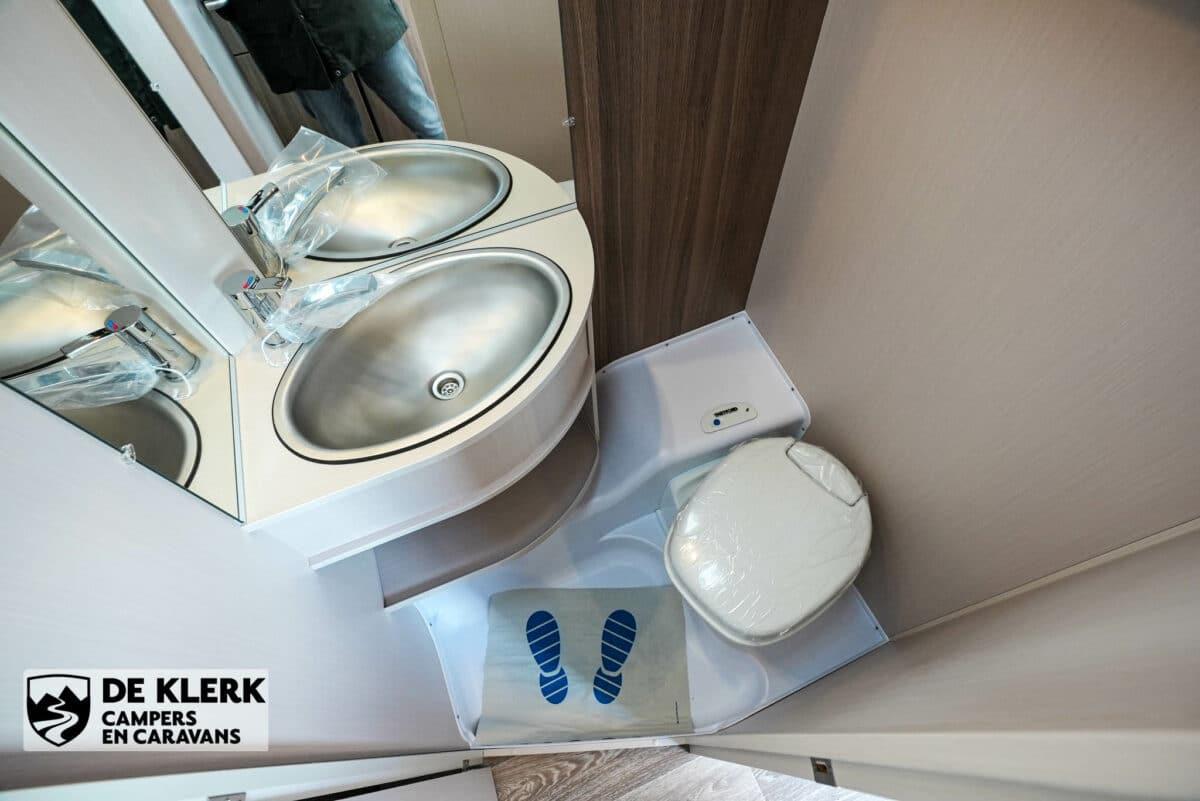 Dethleffs C'joy 460 LE toilet