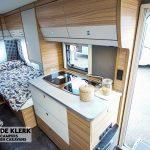 Dethleffs camper 460 EL keuken