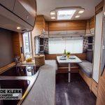 Dethleffs camper 460 EL keuken en zitje