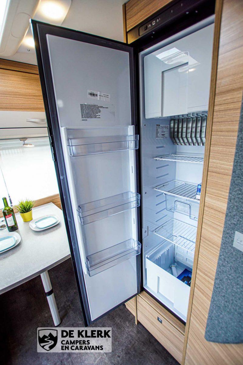 Dethleffs camper 460 EL koelkast