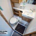 Dethleffs camper 460 EL toilet
