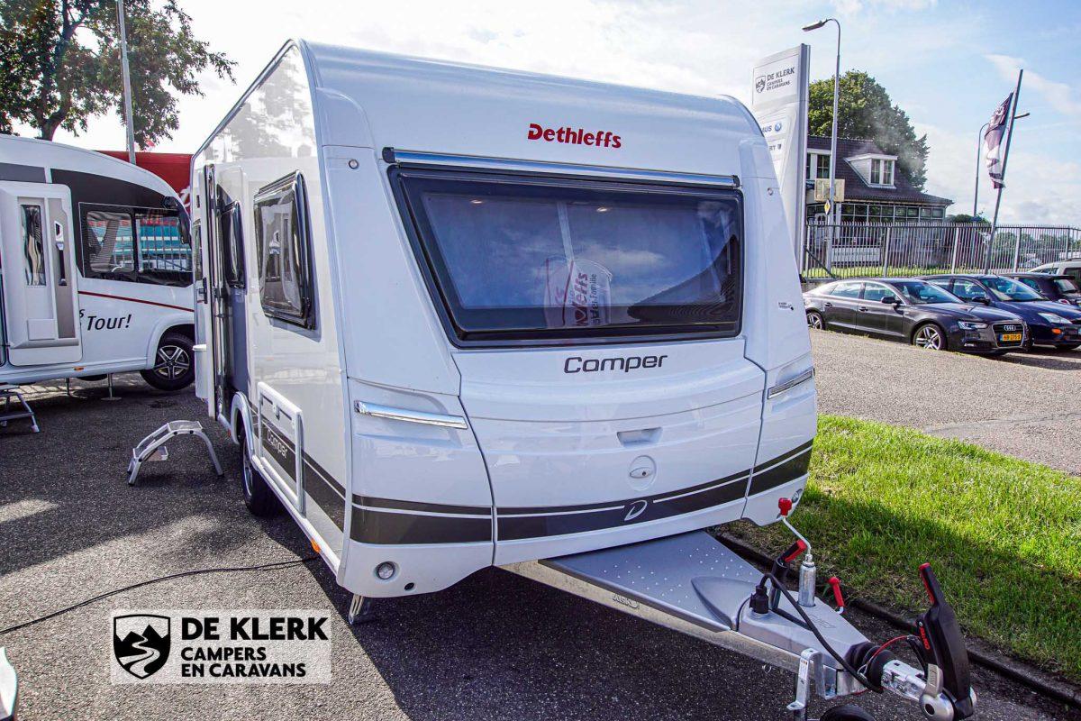 Dethleffs camper 460 EL voorkant