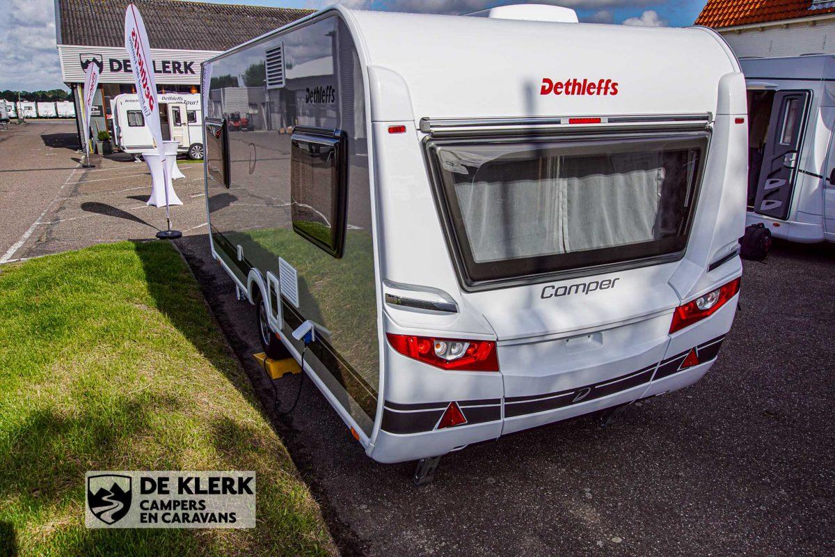 Dethleffs camper 460 EL zijkant