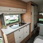 Dethleffs camper 500 qsk keuken