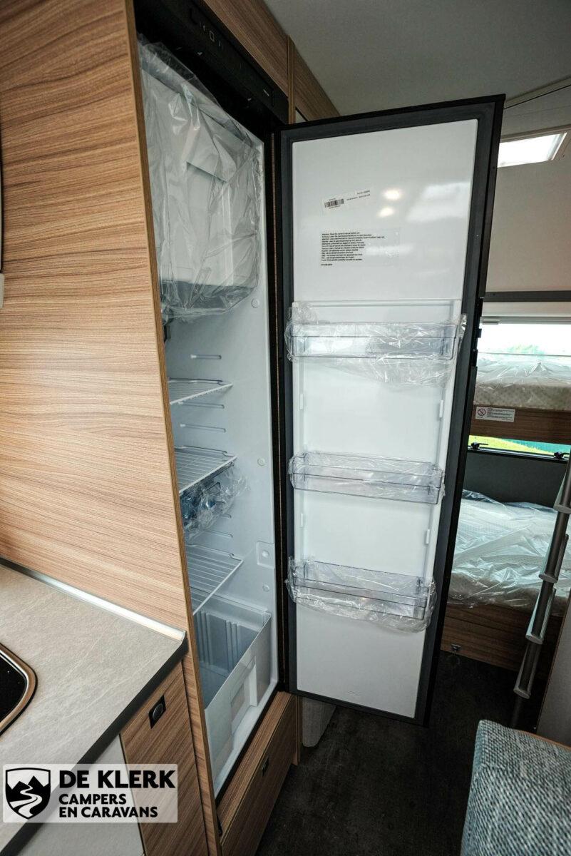 Dethleffs camper 500 qsk koelkast