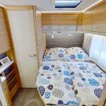 Dethleffs camper 530 FSK frans bed