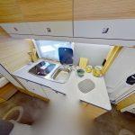 Dethleffs camper 530 FSK keuken