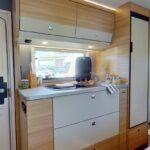Dethleffs camper 540 QMK keuken