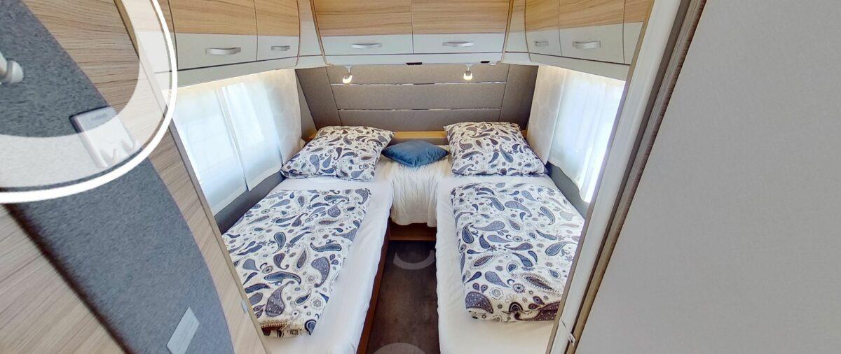 Dethleffs camper 550 esk lengte bedden