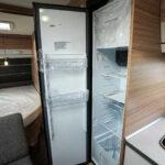 Dethleffs camper 560 FMK koelkast