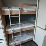 Dethleffs camper 560 FMK stapelbed