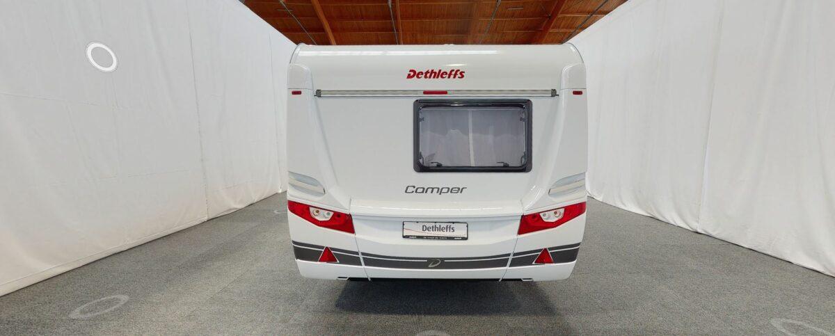 Dethleffs camper 650 FMK achterkant