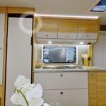 Dethleffs camper 650 FMK keuken