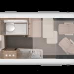 Indeling Boxlife camper 600 DQ