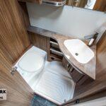 Tabbert booster 540 e toilet