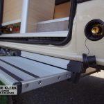 Elektrische afstapje Mercedes camper 4x4