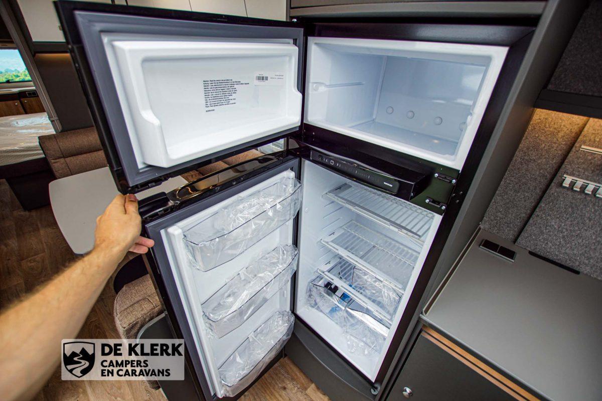 Dethleffs Beduin Scandinavia 690 BQT koelkast