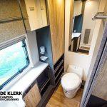 Dethleffs Beduin Scandinavia 690 BQT toilet