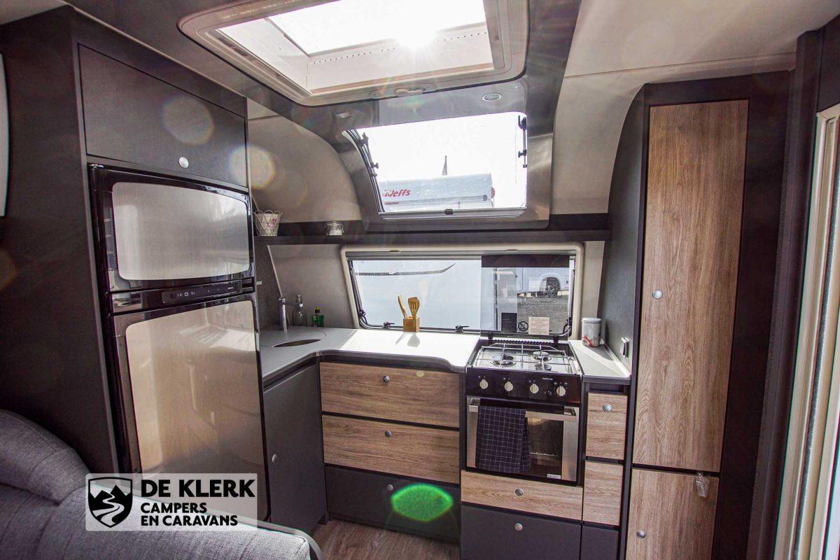 Dethleffs Beduin Scandinavia 740 BFK keuken