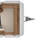 Tabbert Da Vinci 390 QD indeling