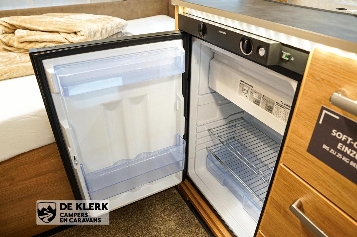 Tabbert Da vinci 390 QD koelkast