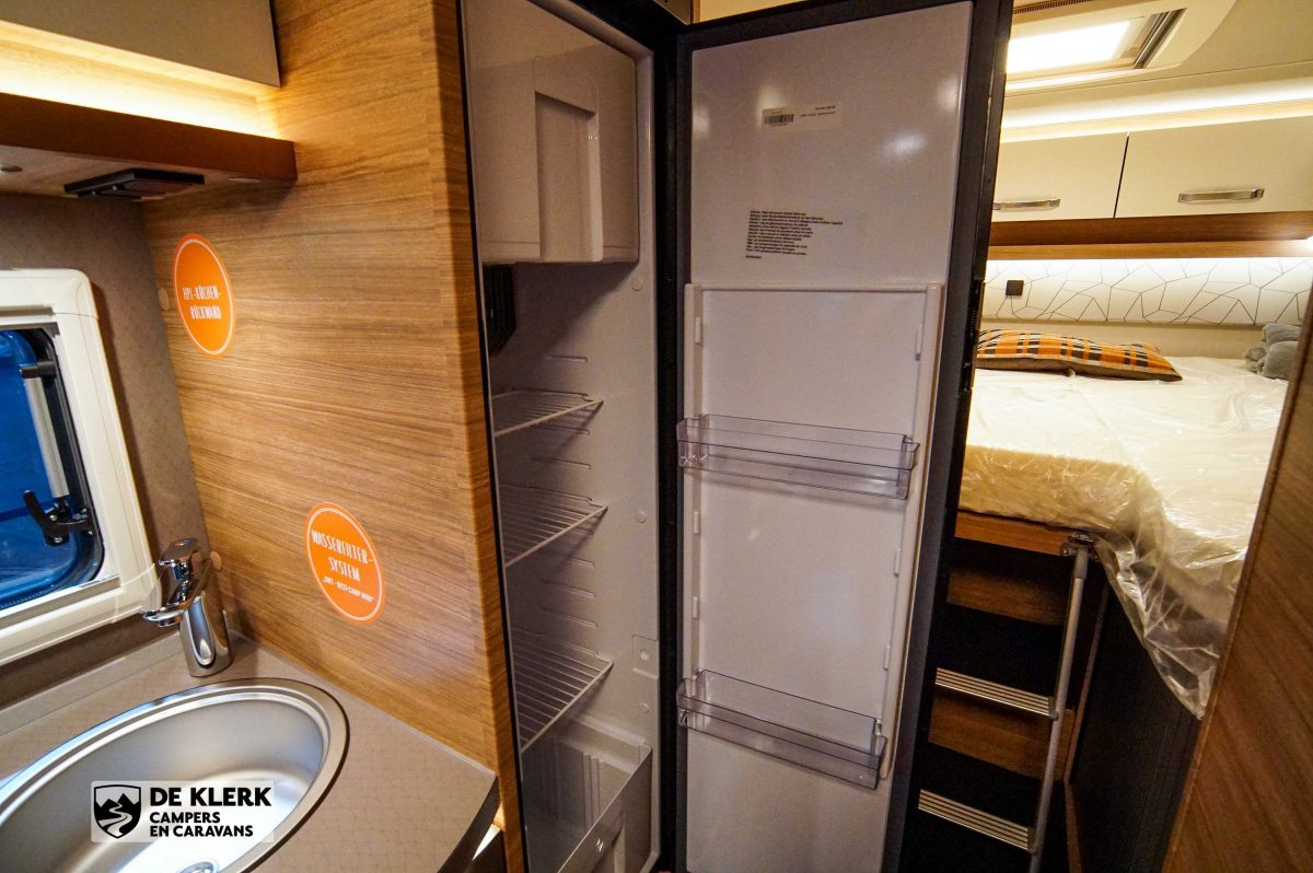 Weinsberg caracpompact 600 meg pepper edition koelkast