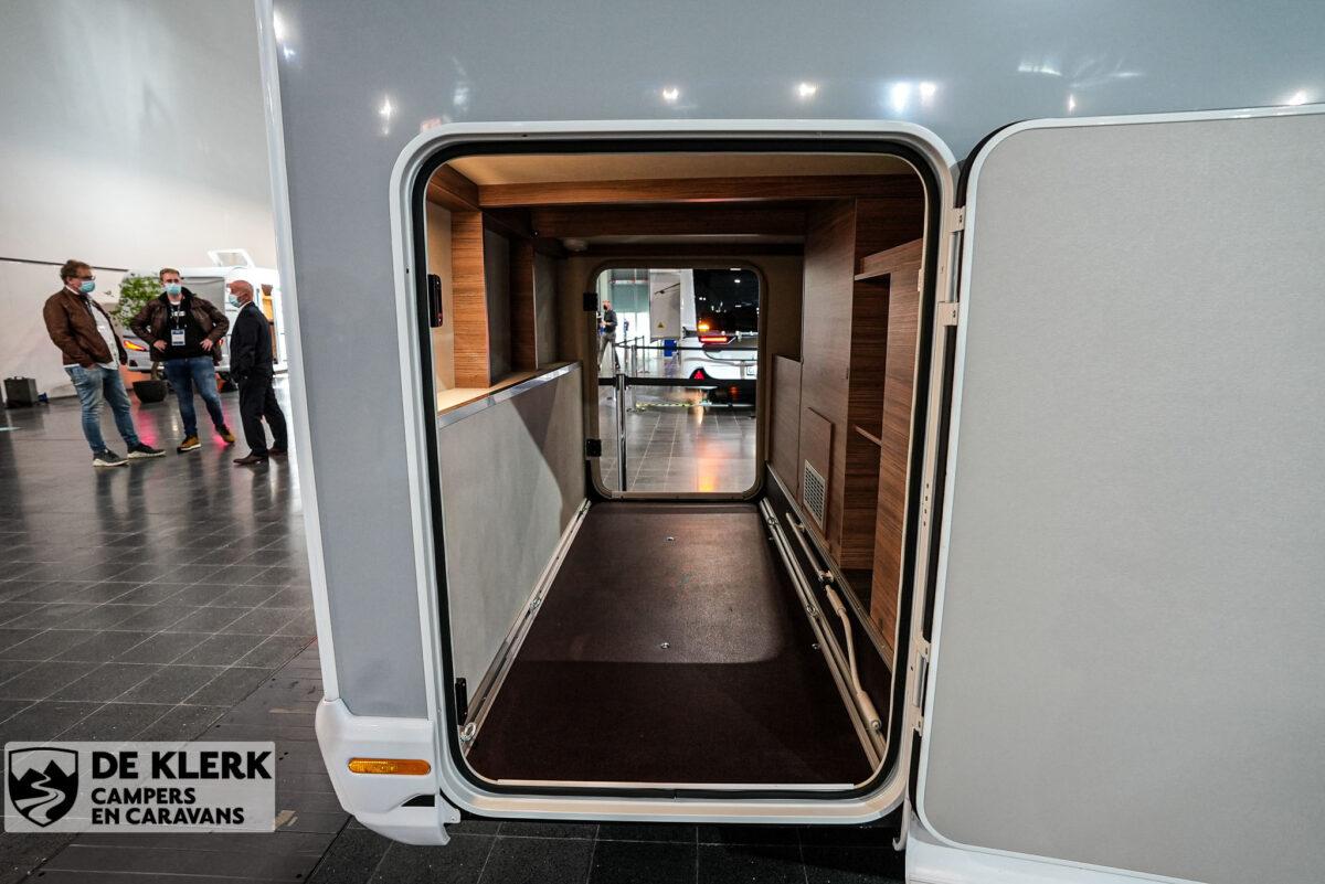 Knaus Van Ti MAN Vansation 640 MEG garage