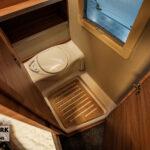 Tabbert Da Vinci 550 DM toilet